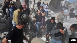 بعد قصف القوات السورية النظامية معرة النعمان