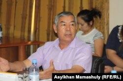 «Алтын диірмен» корпорациясының президенті Манап Изатов.