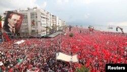 Измирдә Инҗе тарафдарлары җыены