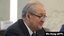 Глава МИД Узбекистана Абдулазиз Камилов.