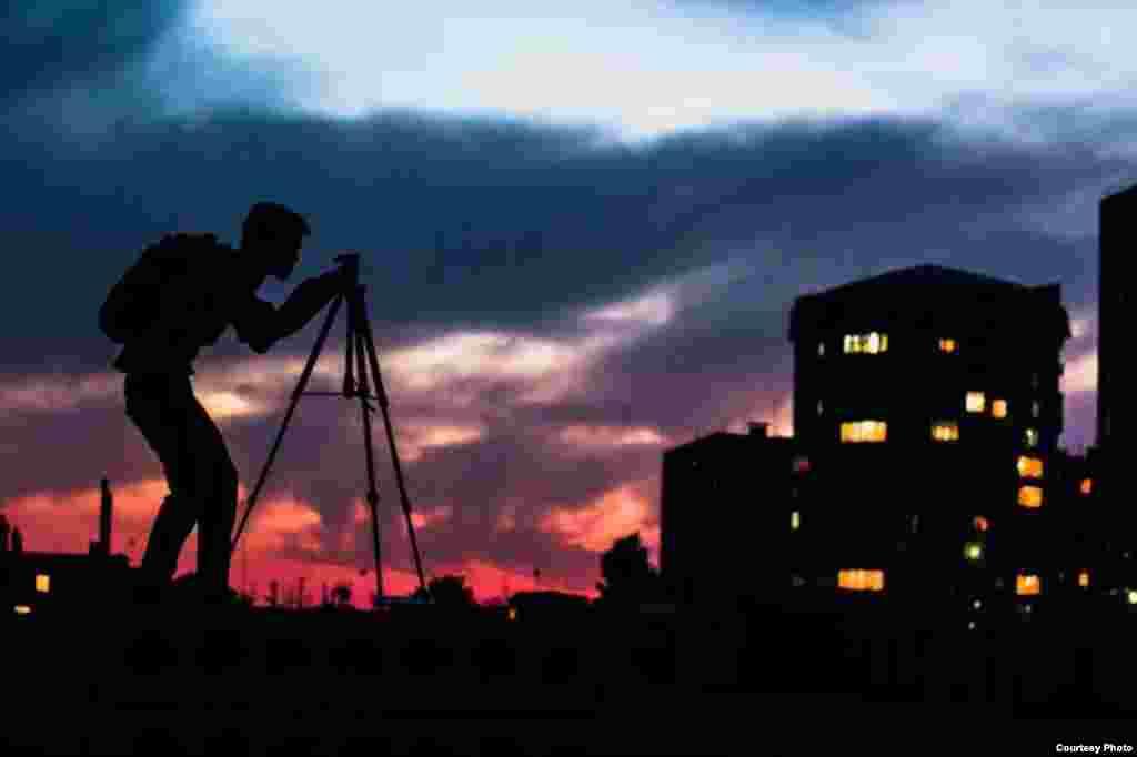 Фотограф. Бишкек. Автор: Дастан Уметтегин.