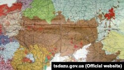 Крим на карті країн і населення Європи професора Дітріха Шефера, 1918 рік, Німеччина