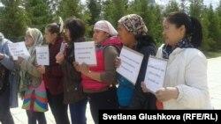 Жер иелерінің наразылығы. Астана, 23 мамыр 2014 жыл.