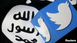 Twitter suspended more than 200,000 accounts this year due to extremism concerns (illustrative photo).