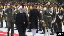 دیدار عمران خان، نخستوزیر پاکستان از تهران