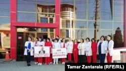 «Свободу Важе Гаприндашвили!» – этот призыв объединил сегодня врачей по всей Грузии