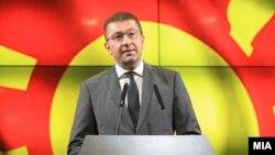 Kreu i VMRO-së, Hristijan Mickovski. Fotografi nga arkivi.