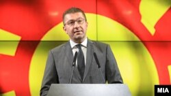 Lideri i VMRO-DPMNE-së, Hristijan Mickovski