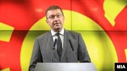 Kreu i VMRO-DPMNE-së, Hristijan Mickovski.
