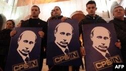 Pristalice politike Vladimira Putina u Srbiji, 23. mart 2011. godine