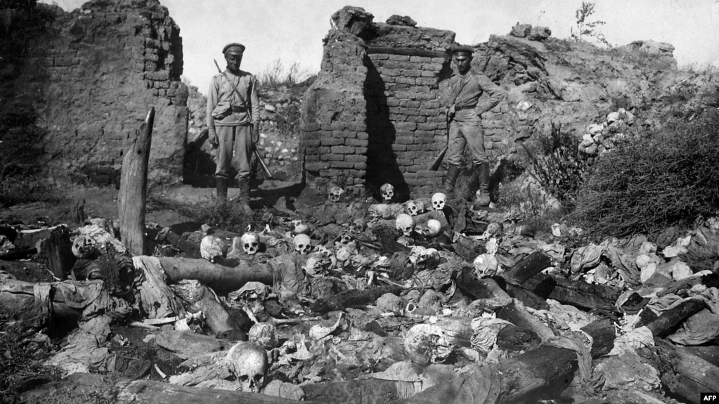 How many people died in the Armenian Genocide?