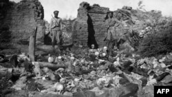 The World War I-era mass slaughter and deportation of up to 1.5 million Armenians by Ottoman Turks is a highly sensitive issue in both Armenia and Turkey. (file photo)