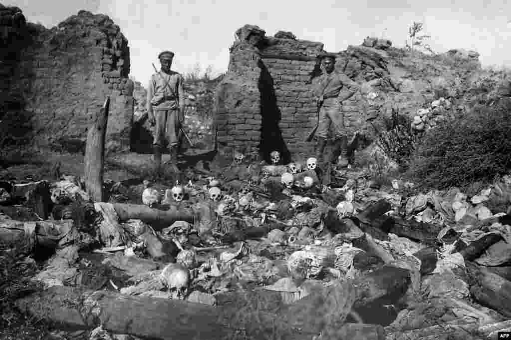 Most of the Yazidis of Armenia arrived with the wave of refugees who fled the massacres carried out by Ottoman Turks in 1915-23. More than 1 million people, mostly ethnic Armenians but including other non-Muslim minorities within the Ottoman Empire, died in those mass killings.