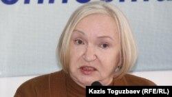 Президент прессозащитной организации «Адил соз» Тамара Калеева.