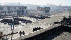 Краснокаменская колония после пожара. 18 апреля 2011 года