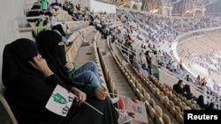 Səudiyyəli qadınlar futbol yarışında