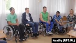 Очрашуда катнашкан инвалидлар