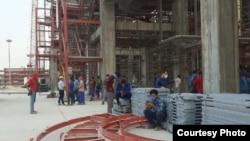 Pars Petrochemical's workers on strike strike. August 2, 2020
