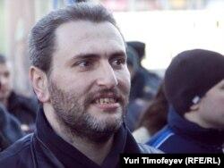 Борис Стомахин, оппозиционный активист. Москва, 31 марта 2011 года.