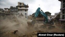 Регіон Катманду у Непалі після землетрусу, 25 квітня 2015 року