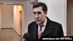 представитель фронта «Нет» Рубен Меликян (архив)