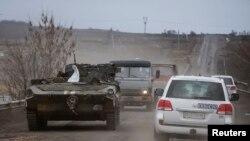 Машина СММ ОБСЄ на Донбасі (ілюстраційне фото)