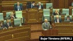 Говор на премиерот Иса Мустафа во косовскиот парламент