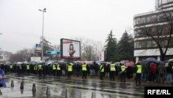 Протести во Скопје