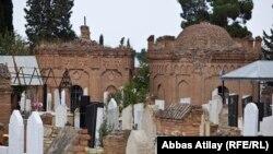 Кладбище в Азербайджане