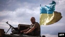 Украинские военнослужащие в зоне АТО, Донецкая область