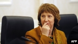EU foreign policy chief Catherine Ashton chaired the talks