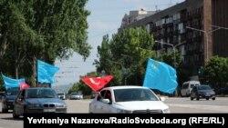 Автопробіг у роковини депортації кримських татар, Запоріжжя, 18 травня 2019