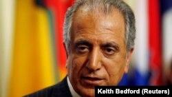 Залмай Халилзад в бытность постоянным представителем США при ООН.