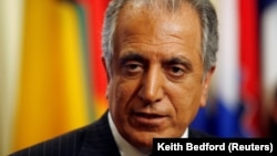 U.S. peace envoy Zalmay Khalilzad (file photo)