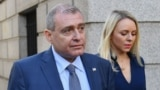 U.S. -- Lev Parnas, a Ukrainian-Floridian businessman who is both a client and associate of Rudy Giuliani's arrives for his arraignment in the Southern District of New York (SDNY) on October 23, 2019.