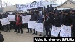 kyrgyzstan--talas--protest