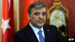 Турскиот претседател Абдула Ѓул.