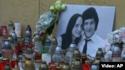 Slovak anticorruption reporter Jan Kuciak and his fiancee, Martina Kusnirova, were shot dead at their home in Bratislava in 2018.