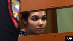 Варвара Караулова (Александра Иванова) в суде