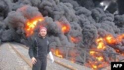На окраине сирийского города Хомс взорван магистральный нефтепровод