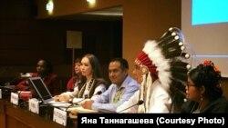 Яна Таннагашева принимает участие в работе Комиссии по ликвидации расовой дискриминации