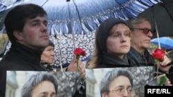 A memorial for Anna Politkovskaya