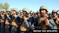 شماری از منسوبین پولیس ملی افغانستان