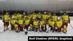 Хоккей боюнча Кыргызстандын улуттук курамасы