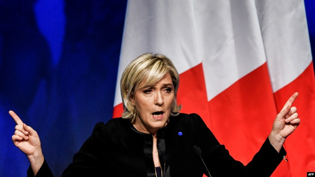 Marine Le Pen, French National Front leader, also said tolerating Assad may be the best way to protect minority Christians and enable them to stay in Syria.