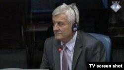 Svjedok Mile Sladoje u sudnici 19.svibnja 2014.