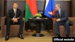 Встреча президентов России и Азербайджана в Сочи, 9 августа 2014 г.