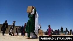 Табір для переміщених осіб в Афганістані, 3 травня 2020 року