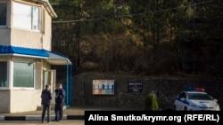 Пост ДПС на Ангарському перевалі, Крим