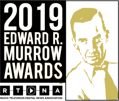 2019 Edward R. Murrow Award logo